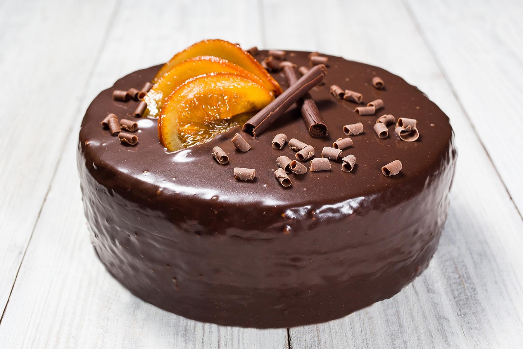Orange Cake With Chocolate Ganache Melbourne Food Wine