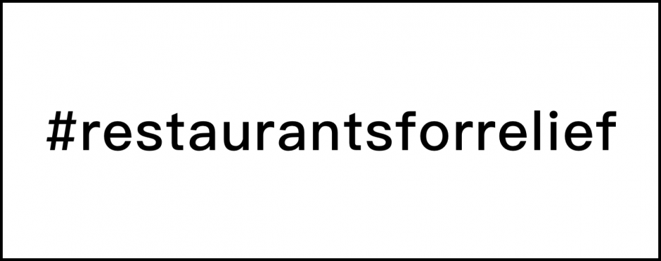 restaurantsforrelief website